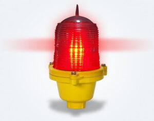 low intensity sinlge aviation obstruction light
