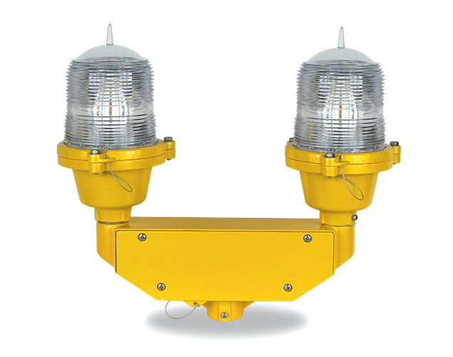 twin obstruction light_OL32D low intensity dual aircraft warning light
