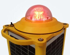 L810 солнечная сигнальная лампа для авиации