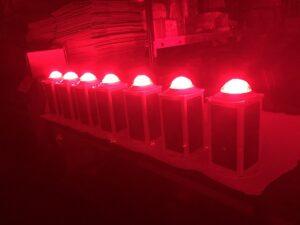 Солнечные авиационные фонари FS810 на испытаниях