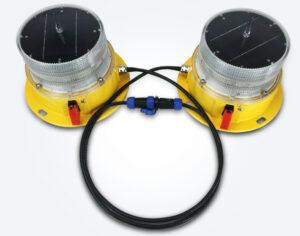 solar twin aviation light