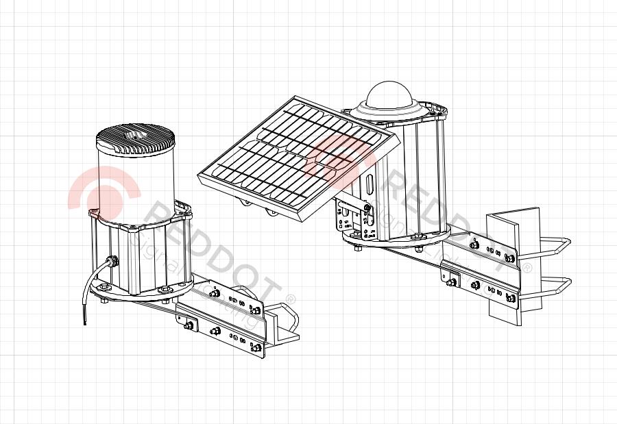 Кронштейн AMP-S-VB для F864-OLS-OLIS-OMS2K-FS810
