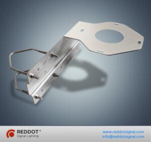 Suporte de montagem AMP30150 para luz de obstrução de média intensidade