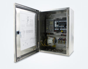 AC-DC obstruction lighting control panel