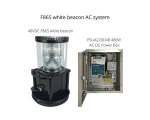 F865 منارة بيضاء متوسطة الكثافة 480