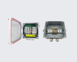 صندوق التوصيل لأضواء العوائق