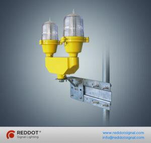 OL32 LED luz dupla de obstrução de aviação de baixa intensidade 1