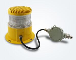 Luz de obstrução de média intensidade OM2K com junção