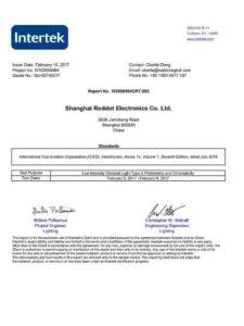 FS810 solar aircraft warning light_ICAO_LIOL-A_report_p1