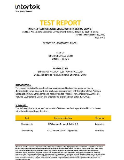 OL32 ICAO LIOL B relatório p1